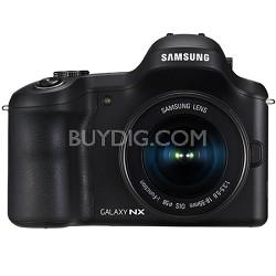 Galaxy NX 20.3MP HD 1080p Mirrorless Digital Camera with 18-55mm Lens