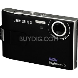 Digimax i6 Digital Camera, PMP and MP3 (Black)