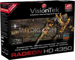 Radeon HD4350 PCIE 512MB DMS59   Model # 900273