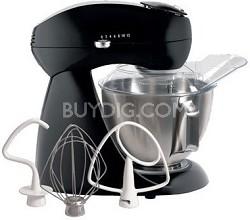Electrics All-Metal Stand Mixer - Licorice (black)