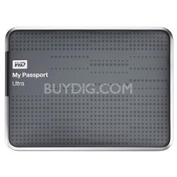My Passport Ultra 2 TB USB 3.0 Portable Hard Drive - WDBMWV0020BTT (Titanium)