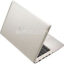 "11.6"" X202E-DH31T-SL Touch Champagne Notebook PC - Intel Core i3-3217U Processor"
