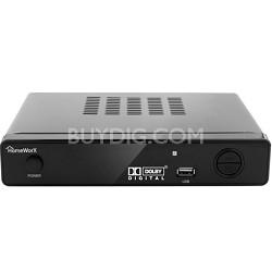 HW-150PVR HomeWorx ATSC Digital TV Converter Box with Media Player - Refurbished