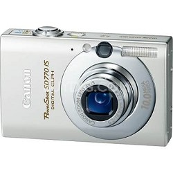 Powershot SD770 IS 10MP Digital ELPH Camera (Silver)Refurbished