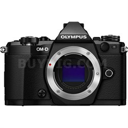 OM-D E-M5 Mark II Micro Four Thirds Digital Camera Body (Black) Refurbished