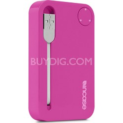 Portable Power 2500 USB Charger - Magenta/Grey