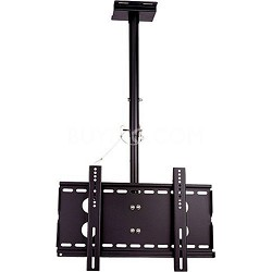 """Universal Tilt Ceiling Mount for Large Flat Panel TVs 20"""" - 40"""" - OPEN BOX"""
