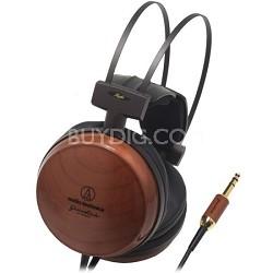 "ATH-W1000X ""Grandioso"" Closed-Back Audiophile Cherrywood Headphones"
