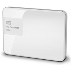 My Passport Ultra 4 TB Portable External Hard Drive, White