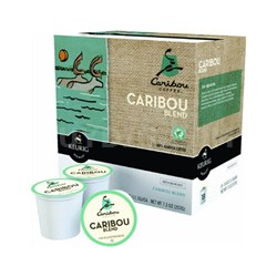 Caribou, Caribou Blend K-cup (Pkg of 3)