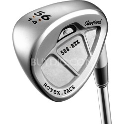 588 RTX CB Satin Chrome Right Hand 56 Degree Wedge (14 Degree Standard Bounce)