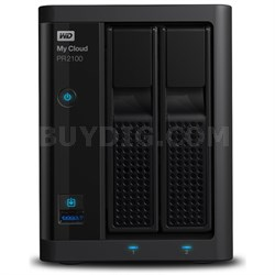 4TB My Cloud Pro Series PR2100 Media Server with Transcoding