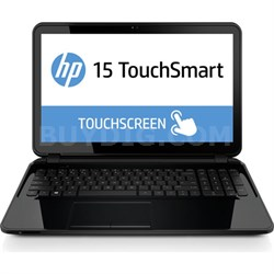 "TouchSmart 15-g020nr 15.6"" HD Notebook PC - AMD Quad-Core A4-6210 APU - OPEN BOX"