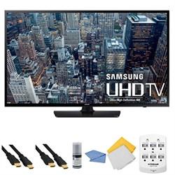 UN60JU6400 - 60-Inch 4K Ultra HD Smart LED HDTV + Hookup Kit