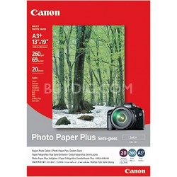13x19in Semi Gloss Photo Paper Plus 20 Sheets