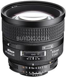85mm f/1.4D IF AF Telephoto Nikkor Lens