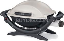Q 100 Portable 189-Square-Inch 8500-BTU Gas Grill w/ Push-button ignition