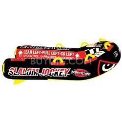 Slalom Jockey Towable Double Rider Water Tube