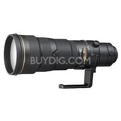 AF-S NIKKOR 500mm f/4G ED VR Lens With Nikon 5-Year USA Warranty