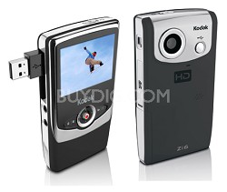 Zi6 Pocket Video Camera (Black)