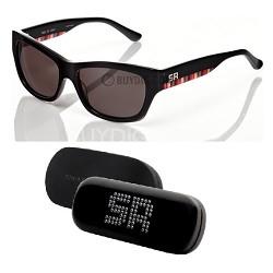 Black Sunglasses with Multi Color Arm