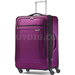 "SoLyte 25"" Expandable Spinner Upright Suitcase Luggage - Purple Magic"