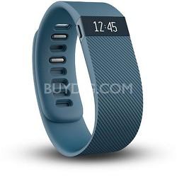 Charge Wireless Activity + Sleep Tracker Wristband - Slate - Small