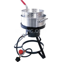 Outdoor LP Gas 10-quart Fryer and Seafood Kettle (MB10)