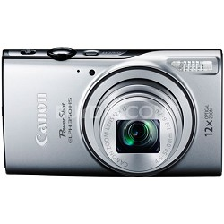 Powershot ELPH 350 HS Silver 20.2MP Digital Camera with 12x Opt. Zoom and Wi-Fi