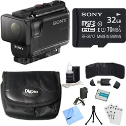 HDR-AS50/B Full HD Action Cam Bundle