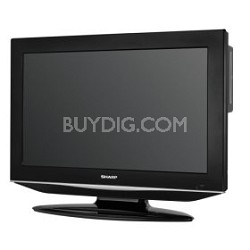 "LC-26DV24U 26"" High-definition LCD Flat-Panel TV w/ Built-in DVD Player"