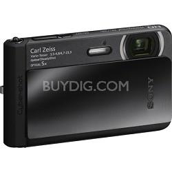 DSC-TX30/B 18.2MP Water, Dust, Freeze, Shockproof Digi Camera - Black - OPEN BOX