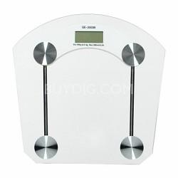 Digital Hi-Tempered Glass Bathroom Scale
