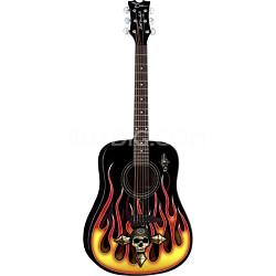 Bret Michaels Player Acoustic Guitar Bundle