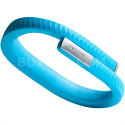 UP by Jawbone - Medium Wristband - Retail Packaging - Blue - OPEN BOX
