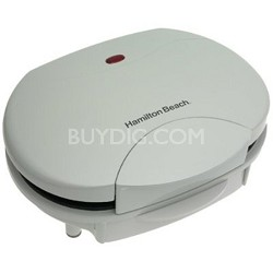 25219 HealthSmart Contact Grill, White