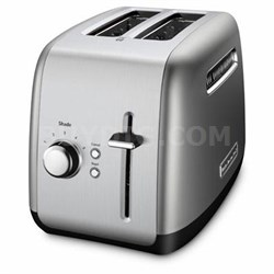 2-Slice Toaster with Manual Lift Lever in Contour Silver - KMT2115CU