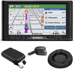 Drive 50LM GPS Navigator (US and Canada) 010-01532-07 Case + Mount + Car Charger