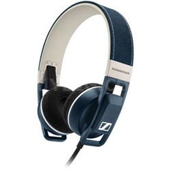 URBANITE Over-Ear Headphones for iOS - Denim