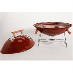 Football Style Outdoor Grill