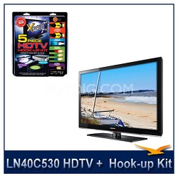 LN40C530 - HDTV + High-performance HDTV Hook-up & Maintenance Kit