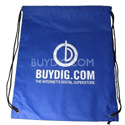 Lightweight Drawstring Backpack - Blue