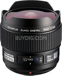8mm f3.5 Zuiko Digital Fisheye Lens  USA WARRANTY