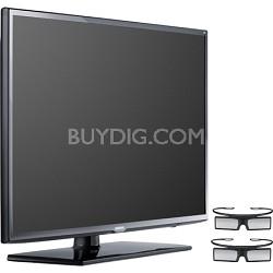 UN40EH6030 40 inch 120hz 1080p 3D LED HDTV + 2 Glasses