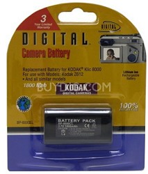 1800mAh Lithium Replacement Battery for KLIC-8000