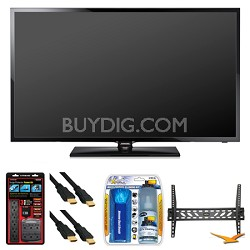 "UN40F5000 40"" 60hz 1080p LED HDTV Wall Mount Bundle"