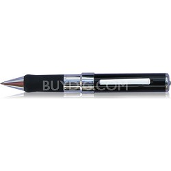 Black Stylish Video and Audio Recordable Pen Camera w/ 4GB Internal Memory