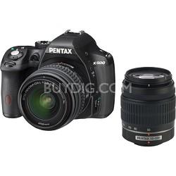 K-500 Digital SLR Cam /18-55mm f/3.5-5.6 and 50-200mm f/4-5.6 Lenses - OPEN BOX