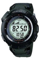 PAW1300-3V - Green Pathfinder Multi-Band Atomic Solar Triple Sensor Watch