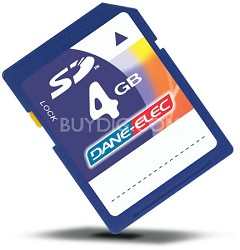 4 GB Secure Digital High Capacity (SDHC) Memory Card